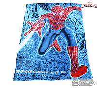 Плед-покрывало из микрофибры  полуторный 150х200см Спайдермен/Spiderman