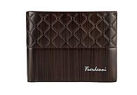 Мужской кошелек BAELLERRY Fuerdanni Style Мужской кожаный кошелек Short Темно Коричневый (SUN0240)
