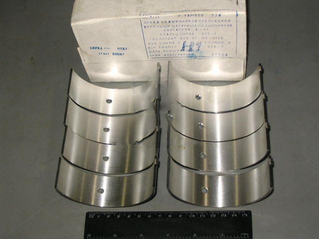 Вкладыши шатунные Н1 А 41 АО20-1 (ЗПС, г.Тамбов). А23.01-93-41сб