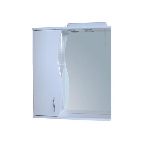 Зеркало для ванной комнаты Базис 60-09 левое ПИК, фото 2