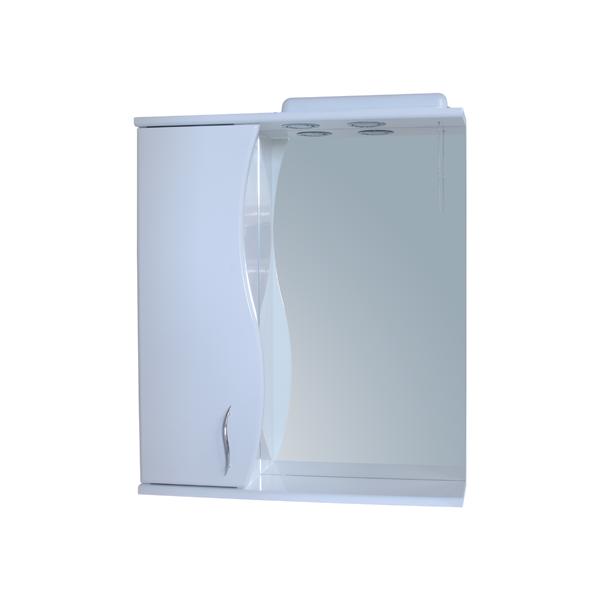 Зеркало для ванной комнаты Базис 60-09 левое ПИК