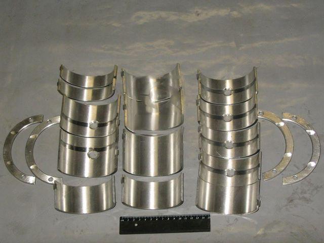 Вкладыши коренные Н2 Д 160 АО20-1 (ЗПС, г.Тамбов). А23.01-103-160сб