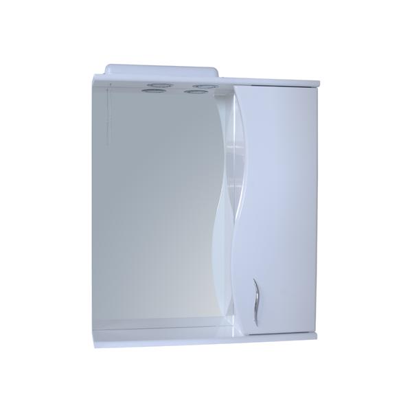 Зеркало для ванной комнаты Базис 60-09 правое ПИК