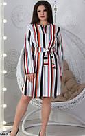 Платье женское весна-лето повседневного стиля версачи 42-52 размеров
