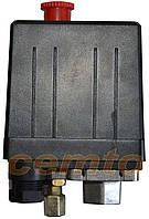 Прессостат регулятор давления к воздушному компрессору Miol 81-152, 81-154, 81-170, 81-140, 81-195