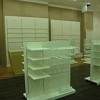 Изготовление торгового оборудования для магазина одежды на заказ