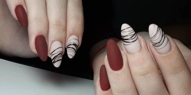 гели-паутинки для дизайна ногтей