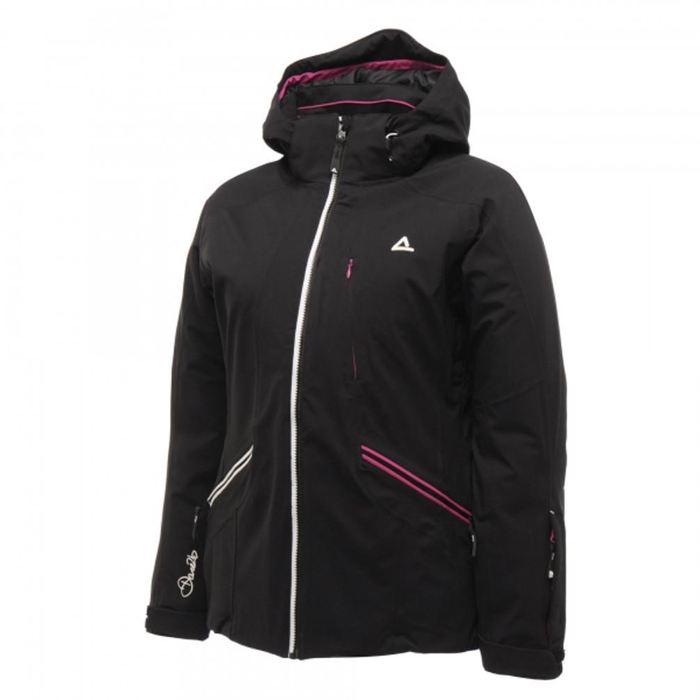 Куртка женская Dare2B PlumPie DWP 119 (черня, лыжная, мембрана, с капюшоном, водонепроницаема, бренд даре2б)