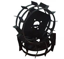 Грунтозацепы (железные колеса) и полуоси для мотоблоков