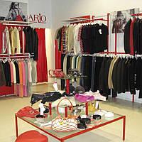 Производство торгового оборудования для магазина одежды на заказ