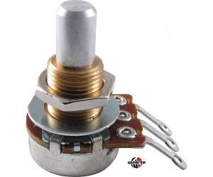 BOURNS B250K Потенціометр для гітари B, 250кОм, 17мм.