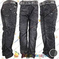 Вельветовые штаны с флисом от 5 до 11 лет (3720)