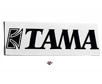 TAMA TLS100BK Наклейка на пластик с логотипом Tama