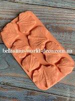 Молд лепестки Гортензии от 2,3смх2см до 3смх3,5см