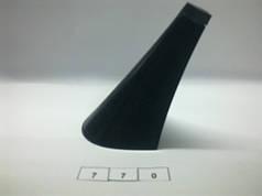 Каблук женский пластиковый 770 h-9 см.