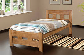 Деревянная кровать SPACE бук 90х200. Бесплатная доставка