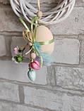 """Пасхальные яйца """"Веселка"""", Н-6-7см, 50/40 (цена за 1 яйцо плюс 10 грн), для корзины, дома, фото 9"""