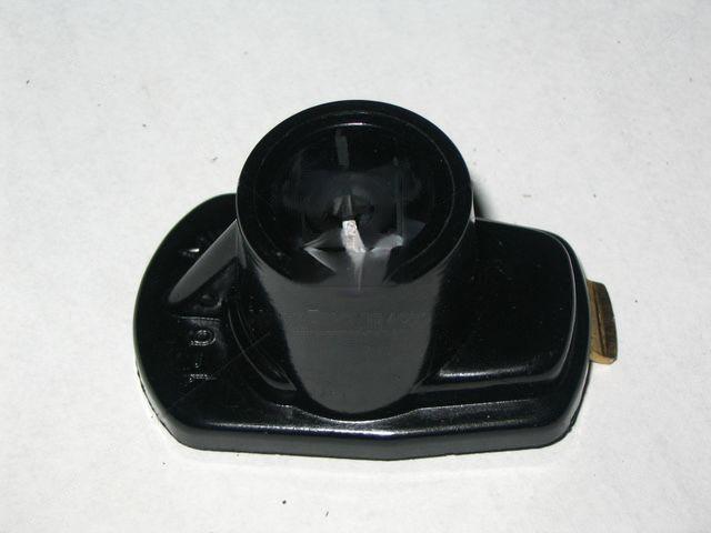 Бегунок бесконтактный ГАЗ, Волга, 2410, 3110 24, УАЗ с резистором (код 098) черный (Цитрон) (Цитрон). Р11-3706020Р