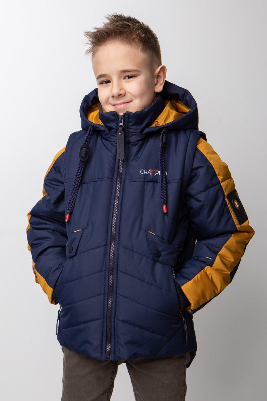 Куртки дитячі для хлопчиків на весну QS Maks