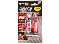 Клей эпоксидный для металла и сплавов Nowax Metal Bond Epoxy Adhesive 20 г