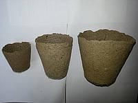 Торфяные горшочки, стаканчики 60*60 мм.