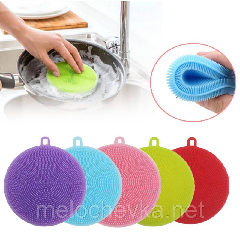 Губка прихватка для посуды