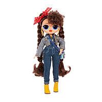 Кукла ЛОЛ Бизи Биби ОМГ 2 волна сюрприз L O. L. Surprise O. M. G Техно Леди