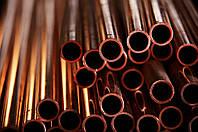 Херсон труба медная 16 8 22 14 10 мм сплав медь М1 и М2 состояние мягкая и твердая с порезкой