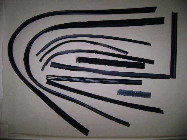 Ремкомплект уплотнителей стекла ВАЗ 2121 №95 Р (БРТ). Ремкомплект 95Р