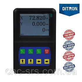 2 оси RS232 TTL 5 вольт LCD дисплей  устройство цифровой индикации D50-2