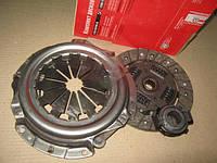 Комплект сцепления ВАЗ 1118, 1117, 1119 Калина 3, 08, 09, 13, 15 модерниз. (диск нажимной+ведомый+подшипник) (ОАТ-ВИС)