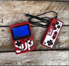 Портативна кишенькова ігрова приставка Sup Game Box 400в1 з джойстиком, ігрова консоль nintendo 8 bit Dendy, фото 2