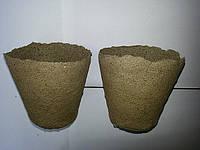 Cтаканчик торфяной (горшочек)110*100 мм.(от 216 шт)