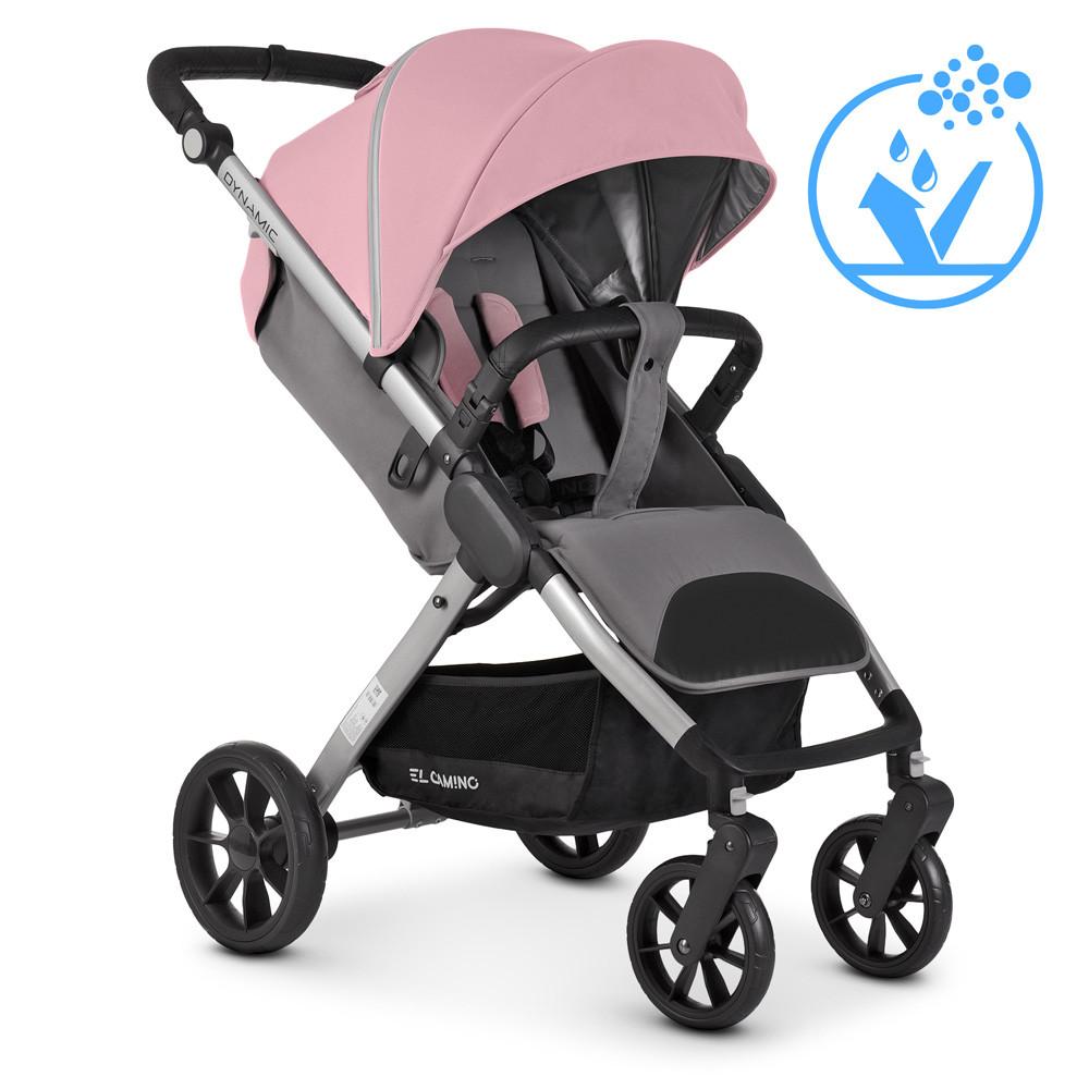 Коляска детская ME 1053-1 DYNAMIC Pale Pink Гарантия качества Быстрая доставка