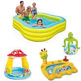 Надувні басейни, гірки та батути