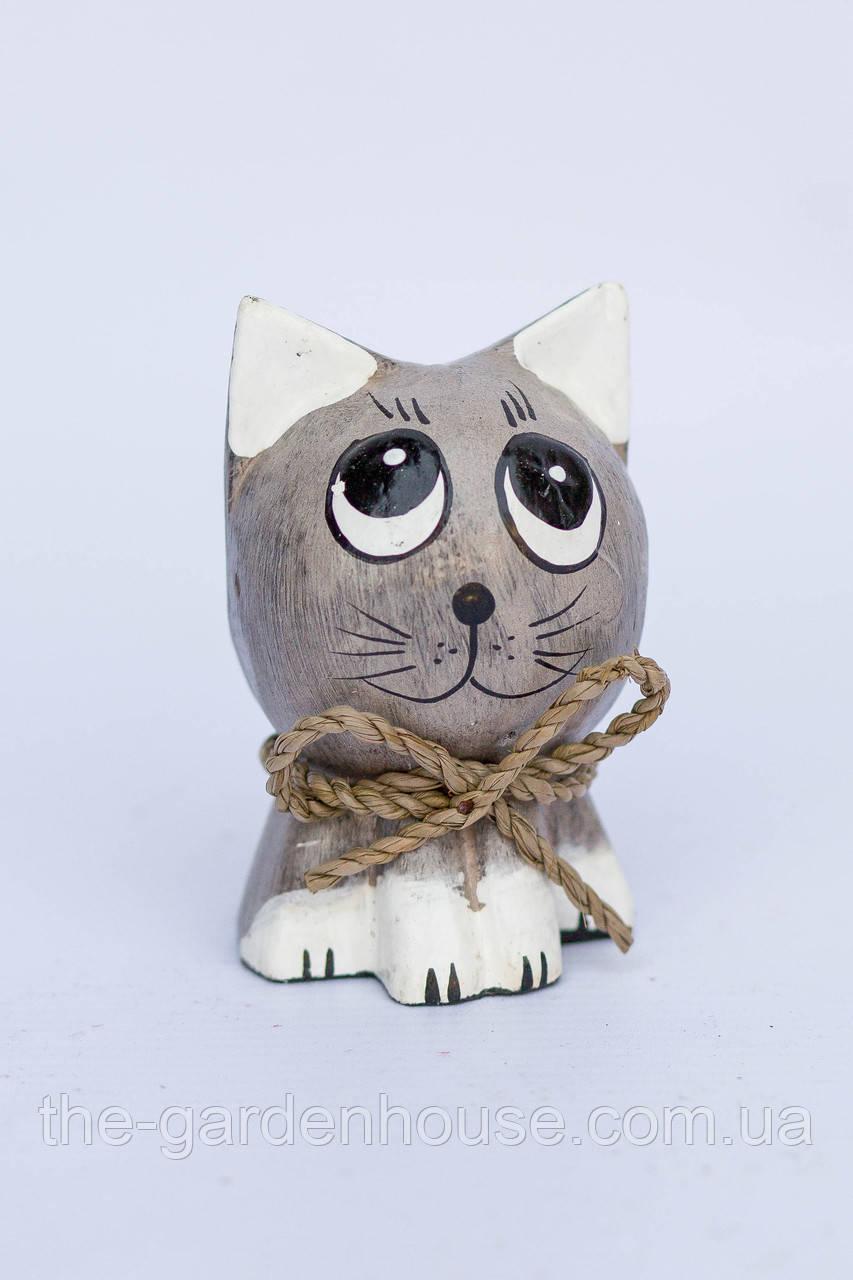 """Котик """"Одуванчик"""" (серый), 8 см"""