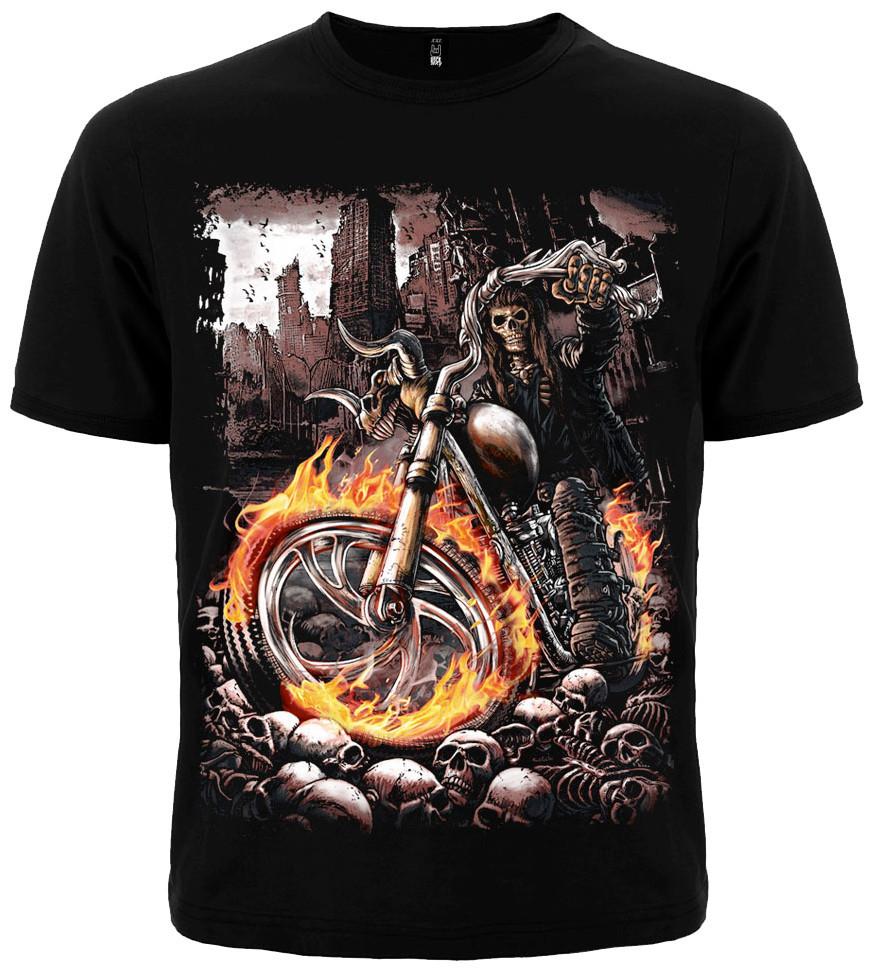 Призрачный гонщик футболка DEATHRIDER  - размер L