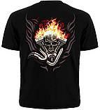 Призрачный гонщик футболка DEATHRIDER  - размер L, фото 3