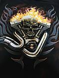Призрачный гонщик футболка DEATHRIDER  - размер L, фото 4