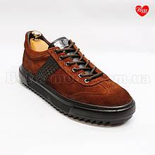 Мужские замшевые спорт-туфли