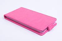 Чехол флип для Fly IQ4516 Tornado Slim Octa розовый