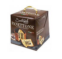 Выпечка с Шоколадом Panettone Santangelo 908 г Италия