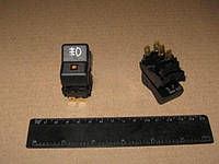 Выключатель противотуманной фары (задней) ВАЗ 2105, 2107, 2104 (Автоарматура). 26.3710-22.24