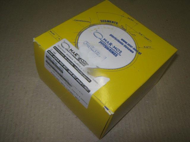 Кольца поршневые 5 кан. М/К Д 144 MAR-MOT (Польша). Д144-1004060
