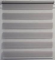 Готовые рулонные шторы Ткань ВН-21 Серый 725*1300