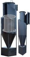 Циклон утилизатор МЦ-У-1500 (1300-12500 кВт) со встроенным теплообмеником