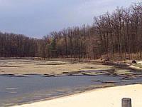 Очистка озер і водойм мініземснарядами