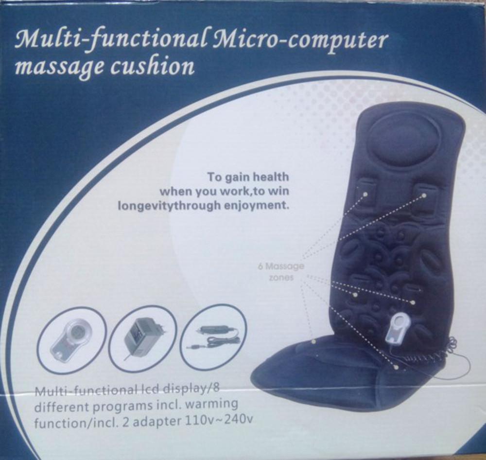 Массажная накидка на автомобильное сиденье — Multi-function Micro-computer massage cushion