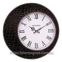 """Часы для интерьера, настенные """"Чёрные"""" 30см."""