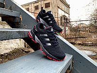 Кроссовки Adidas Marathon TR 26 Blue/Red (37-41р.) темно-синие с красным